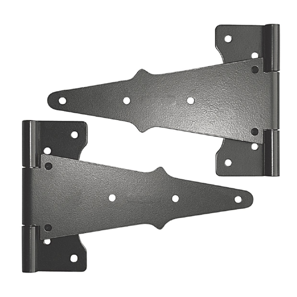 Nuvo Iron Tee Hinges 8'' Black TH8BLK (2 pcs set) by Nuvo Iron