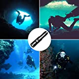 Odepro WD12 Scuba Diving Flashlight 3 Modes 1050