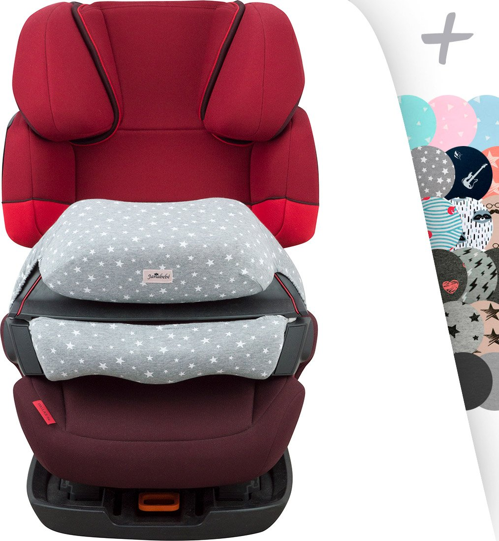 Cover Liner Made by Janabebé for Frontal ACCESORY CYBEX Silver Solution FIX+Pallas FIX, 2FIX, Juno 2 FIX(White Star)