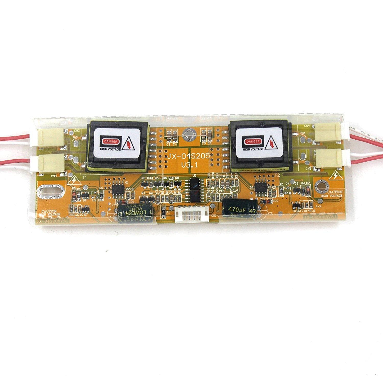 HDMI+VGA+DVI+Audio Input LCD Controller Board For LTM190M2 M190MWW3 19'' 1440x900 4CCFL LCD Panel by LCDBOARD (Image #3)
