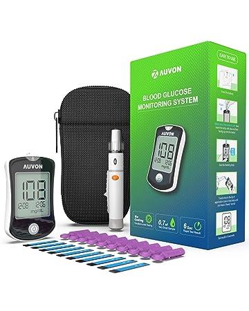 Amazon.com: AUVON DS-W - Kit de azúcar en sangre (sin ...