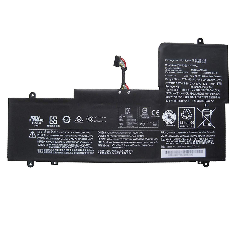 Bateria 7.64V 53Wh/6960mAh L15M4PC2 Lenovo Ideapad Yoga 710-
