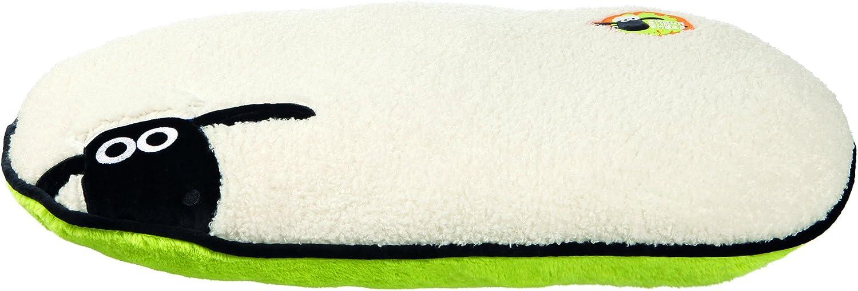 Trixie Shaun la Oveja Oval Perro cojín, 95x 60cm, Color Crema/Verde