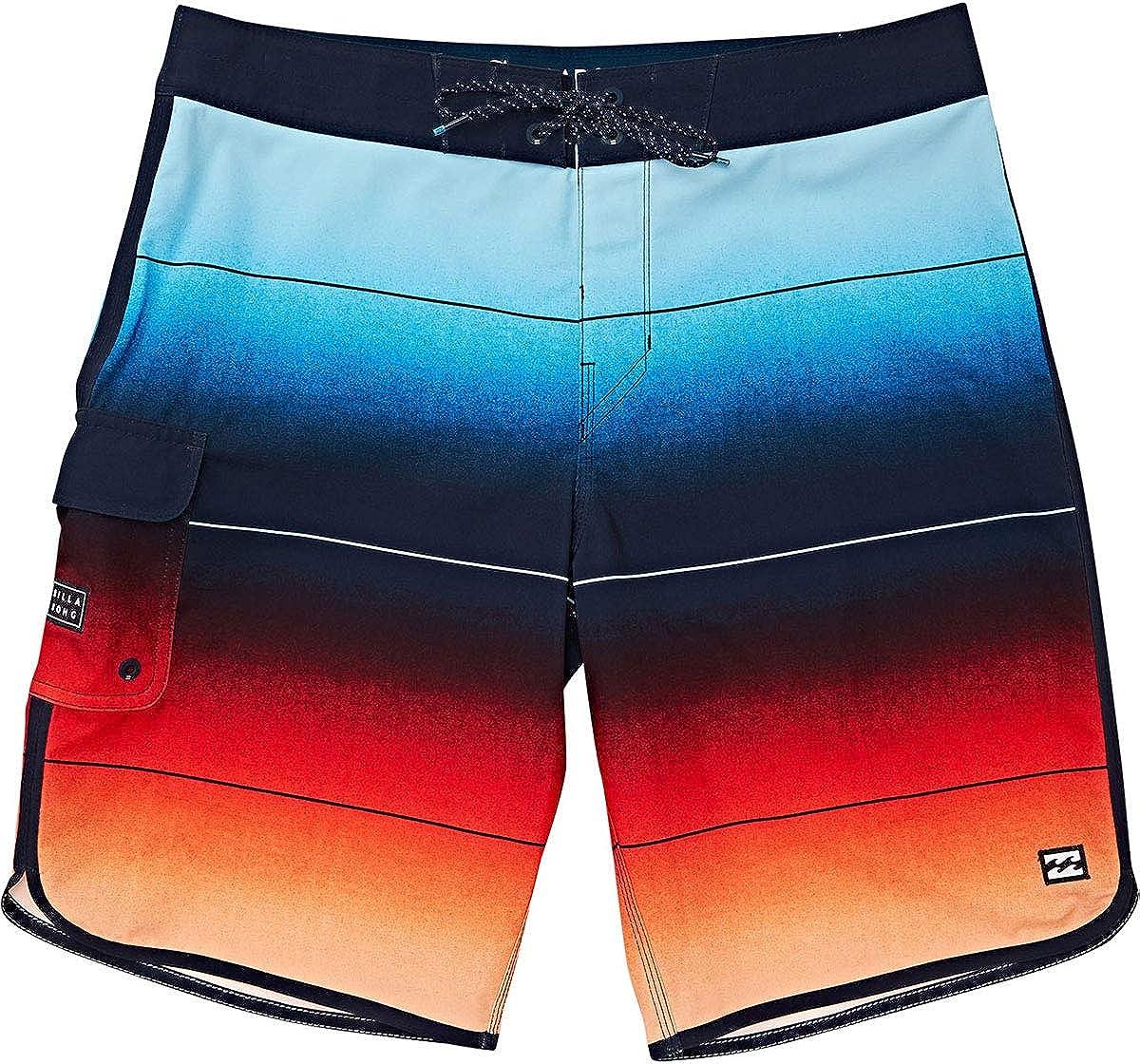 Billabong Mens 73 Stripe Pro Boardshort