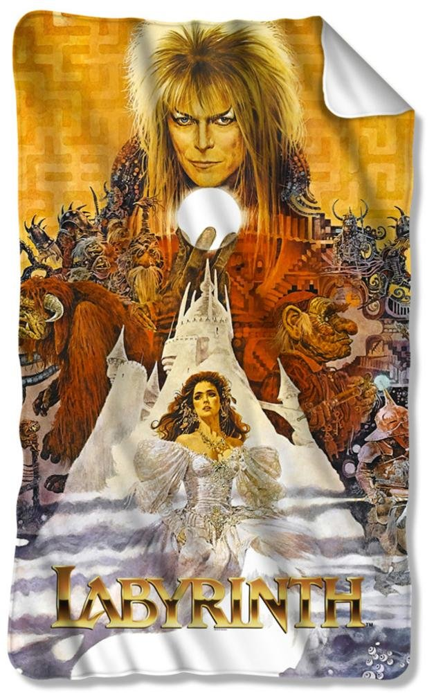 Labyrinth - Crystal Ball Fleece Blanket 35 x 57in