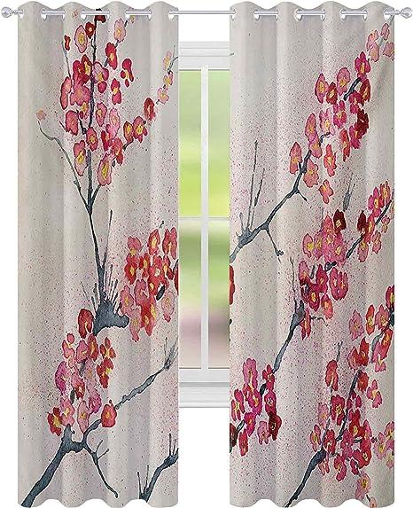 Vintage Cherry Kitchen Curtains