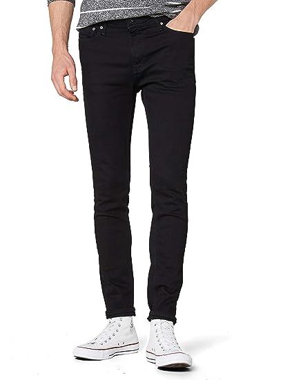 8e67f4b043a5b7 JACK & JONES Men's JJILIAM JJORIGINAL AM 009 LID NOOS Jeans, Black (Black  Denim