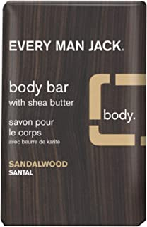 product image for Every Man Jack Men's Body Bar - Sandalwood   7.0-ounce - 1 Bar   Naturally Derived, Parabens-free, Pthalate-free, Dye-free, and Certified Cruelty Free