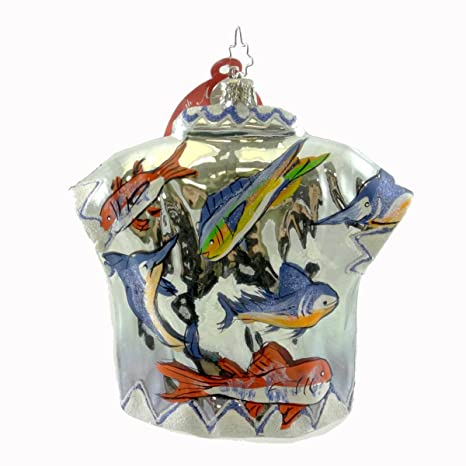 de8bf48a0 Radko ALOHA SHIRT MACY WEST 3010241 FISH Ornament Hawaiian Camp Macys New:  Amazon.co.uk: Kitchen & Home