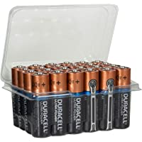 Bulk Pack of 24, Duracell Ultra Power Type AA Alkaline Batteries MX1500, Perfect For Remotes & Toys Exp 2027