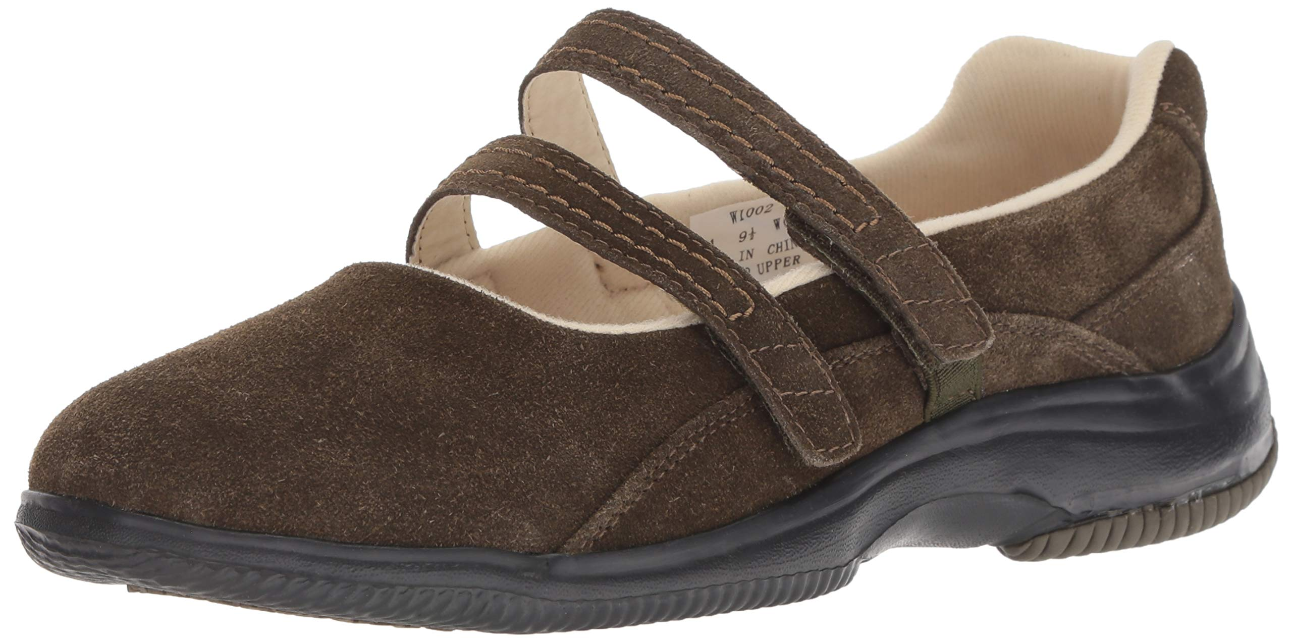 Propet Women's Twilight Mary Jane Flat, Olive Suede, 9H Medium US by Propét