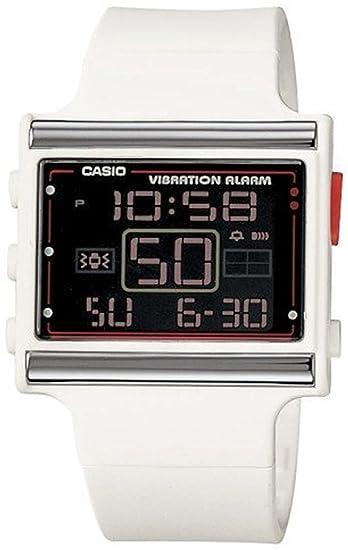 Casio LDF-10-7AV LDF-10-7A - Reloj para mujeres, correa de resina color blanco: Casio: Amazon.es: Relojes