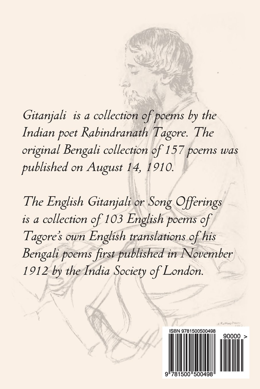 gitanjali a collection of prose translations made by the author from the original bengali qcgt7f8m