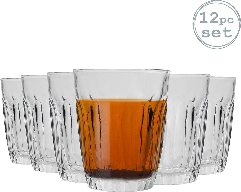 Confezione da 12 Succo Bicchieri 220 ml di Acqua DURALEX Provence Bicchieri