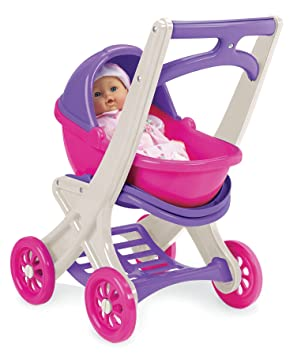 Amazon.com: American Plastic Toy On the Go Stroller: Toys & Games