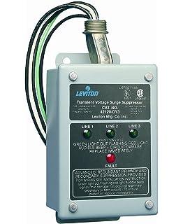 Leviton 42120-DY3 120/208 Volt 3-Phase WYE, 220V 3-