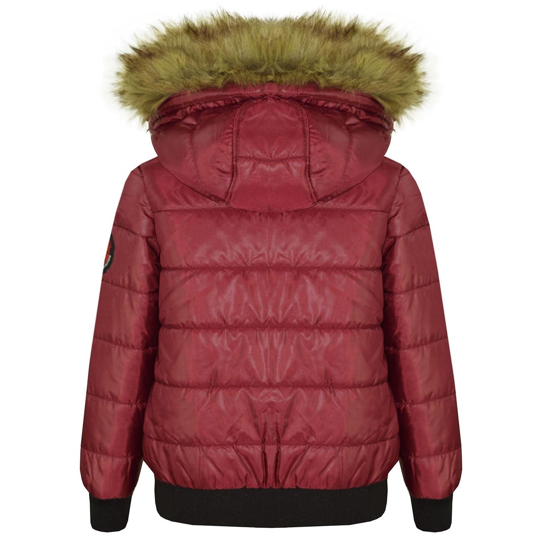 049f9cb92841 A2Z 4 Kids® Kids Boys Girls Jackets Designer s Wine Hooded ...