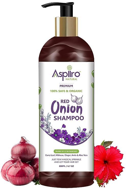 Buy Aspiiro Natural Organic Red Onion Shampoo For Hair Fall Rescue