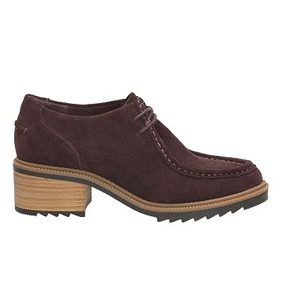 Aubergine Balmer Clarks Chaussures Sacs Et Suede Willow BSqxqwEHR