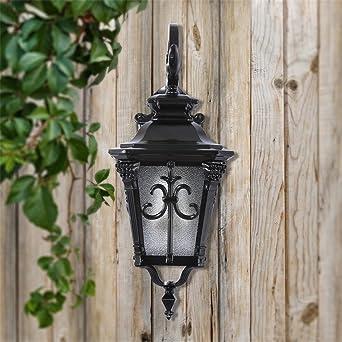 BOOTU lámpara LED y luces de pared Luces de pared exterior patio ...
