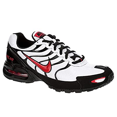 Nike Mens Air Max Torch 4 Running Shoes (11, White/University Red Black)   Road Running