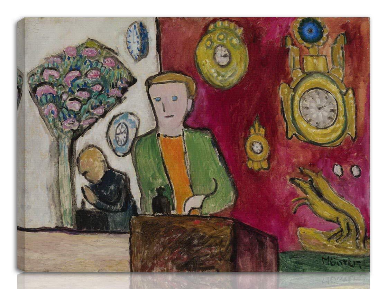 #NK Abstrakt Berkin Arts Gabriele Munter Gedehnt Giclee Auf Leinwand drucken-Ber/ühmte Gem/älde Kunst Poster-Reproduktion Wand Dekoration Fertig zum Aufh/ängen