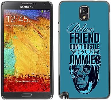 KIKI diseño para Samsung Galaxy Note 3 - relaxa amigo, no robaros ...