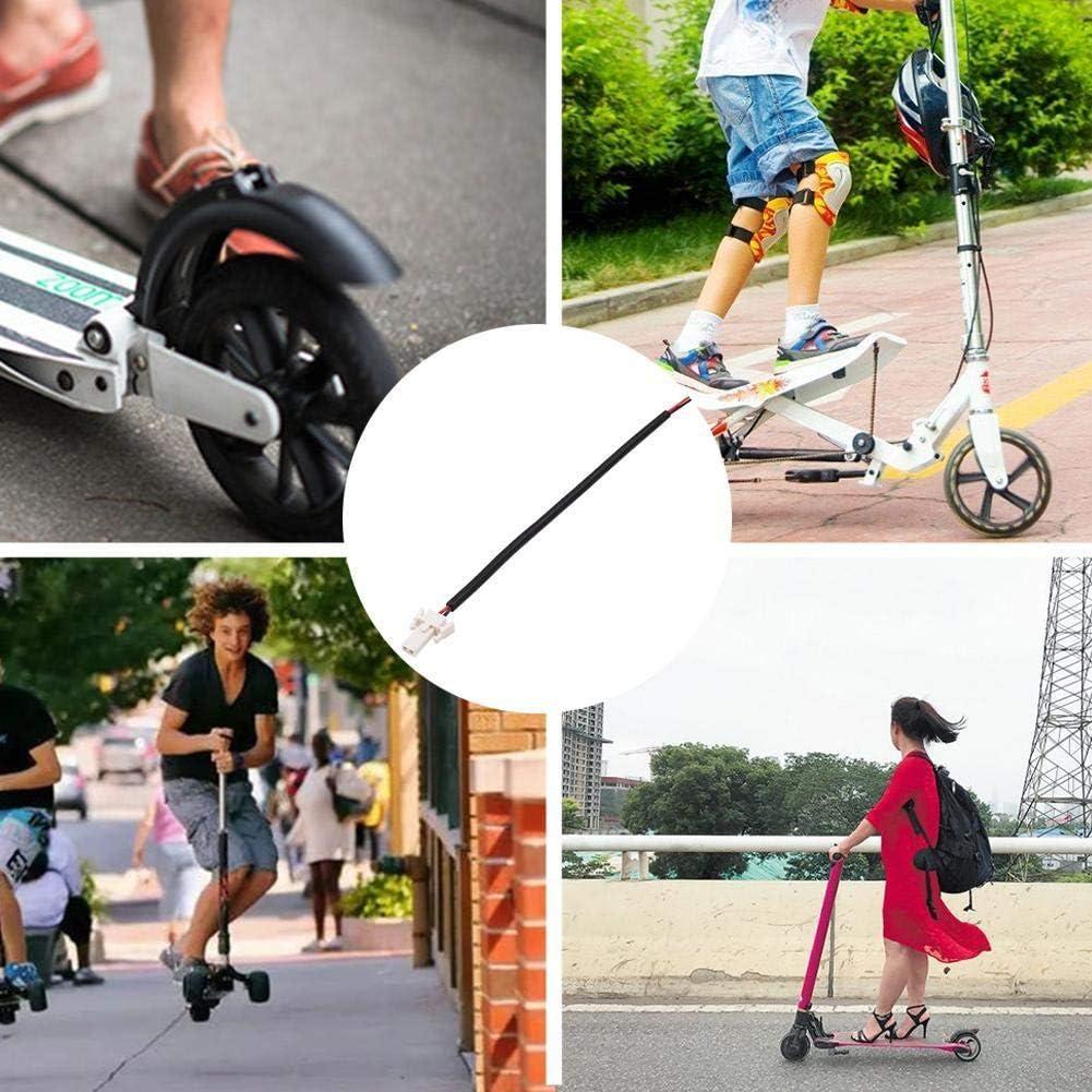 1 Pieza de Enchufe de Luz TraseraCable de Scooter para Xiaomi, Cable de Luz Trasera de Batería de Scooter, Adecuado para Mijo M365 Cable de Luz Trasera de Batería de Scooter Accesorios Universales