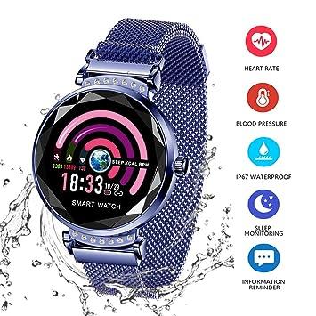 Fitness Tracker pour Femme H2 Montre Connectée Bracelet Connecté Podomètre Cardio Moniteur de Sommeil Fréquence Cardiaque