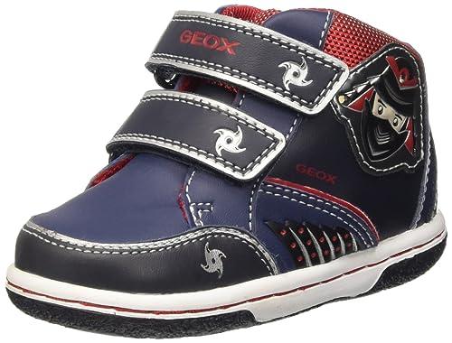 Geox B Flick Boy D, Botines de Senderismo para Bebés: Amazon.es: Zapatos y complementos