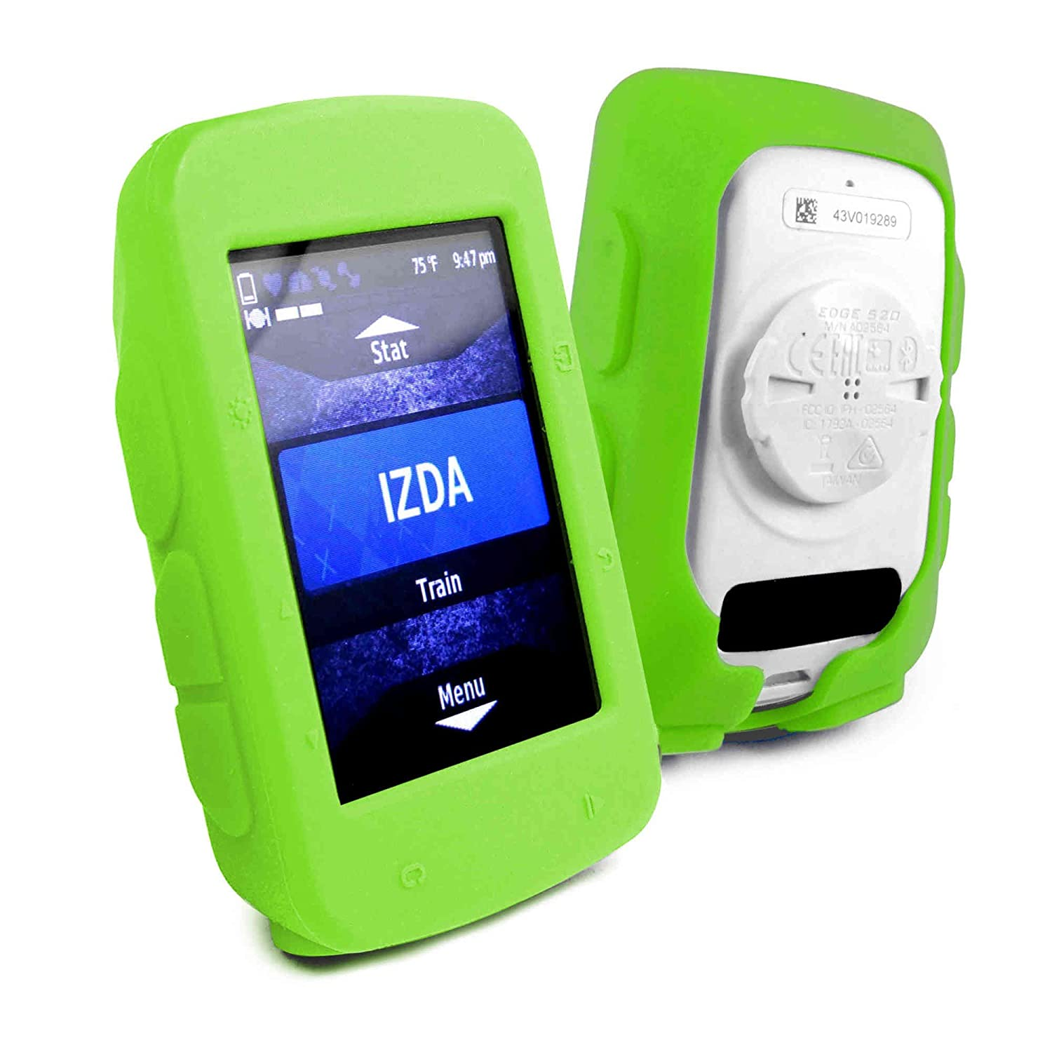 info for 470ae 8f286 Tuff-luv Silicone Gel Skin Case Cover for Garmin Edge 520/520 Plus Edge and  Screen Protector - Green