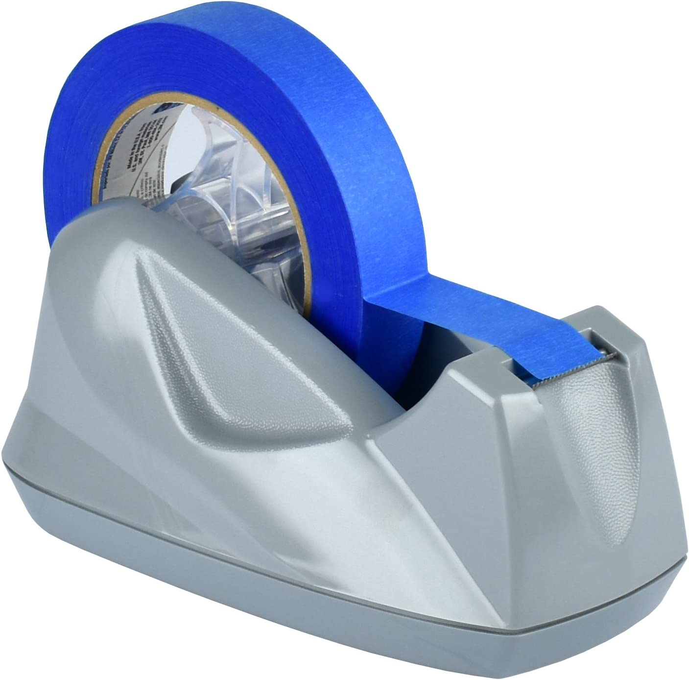 Acrimet Premium Tape Dispenser Jumbo (Platinum Silver Color)