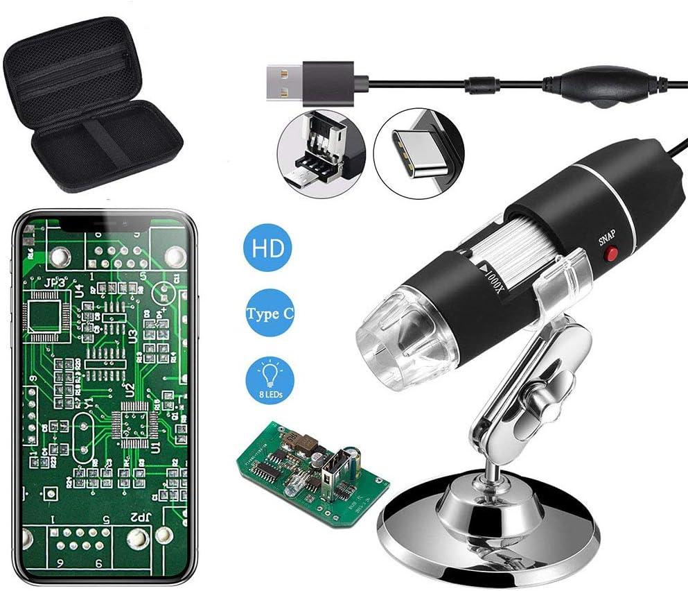 Jiusion Original 40 1000x Usb Mikroskop Mit Tragbaren Kamera