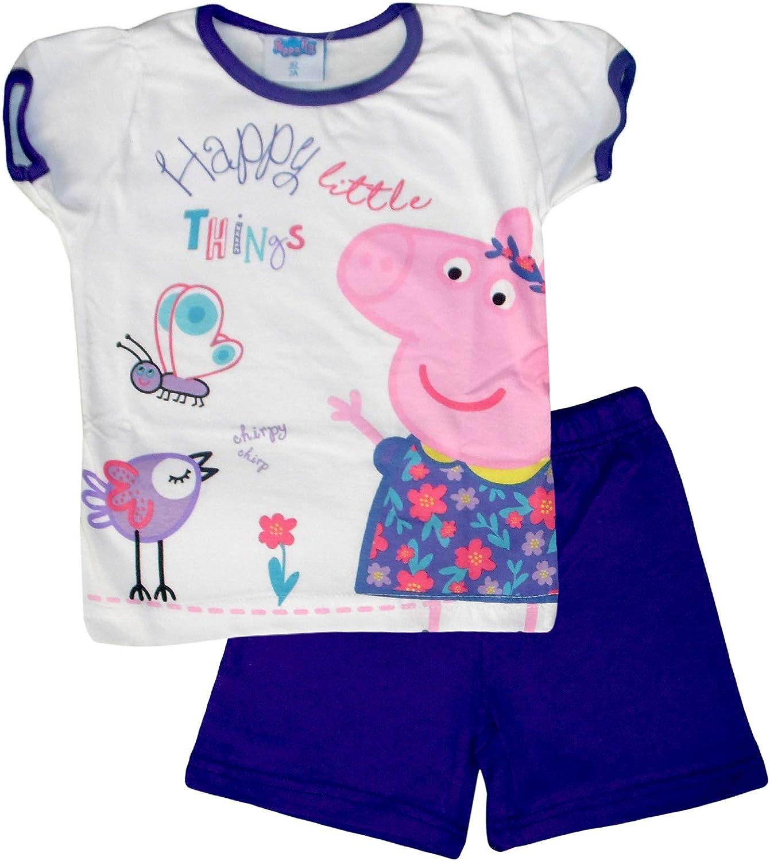 Peppa Pig Kids - Pijama - para niña Morado Morado (5 años: Amazon ...