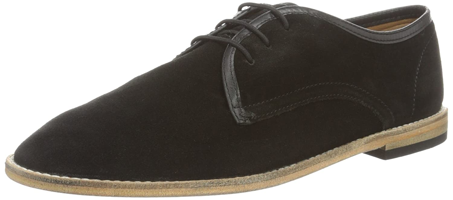 Hudson London Herren Hayane Suede Oxfords, beige