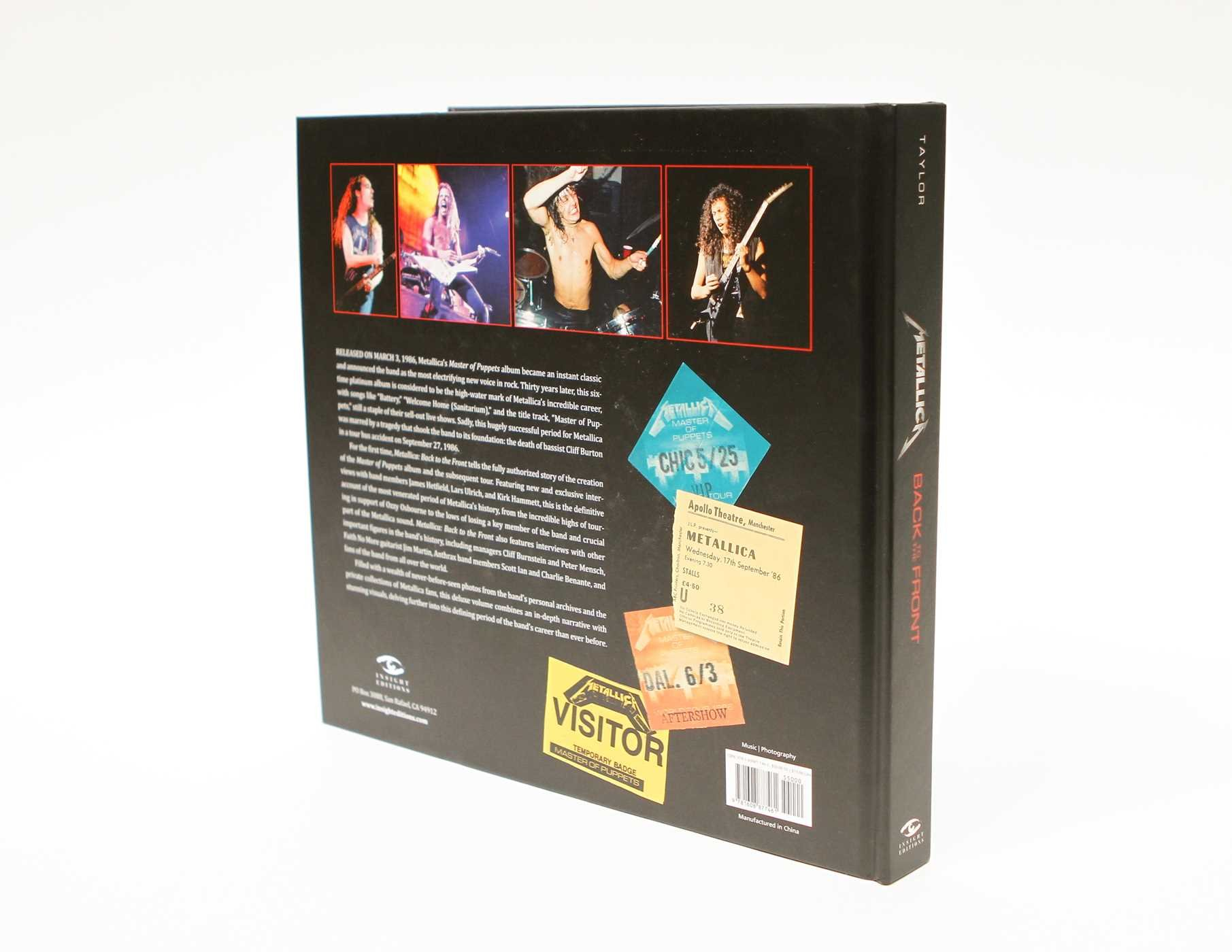 Metallica Back to the Front A Fully Authorized Visual History of