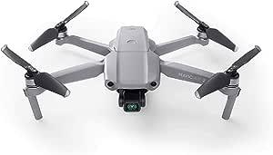 DJI Mavic Air 2 Mavic Air 2 -Drone FlyCam Quadcopter UAV with 3-Axis Gimbal 4K Video 48MP,34-Min Max Flight Time,10KM 1080p Video Transmission, Gray (DJIMVAir2Com)