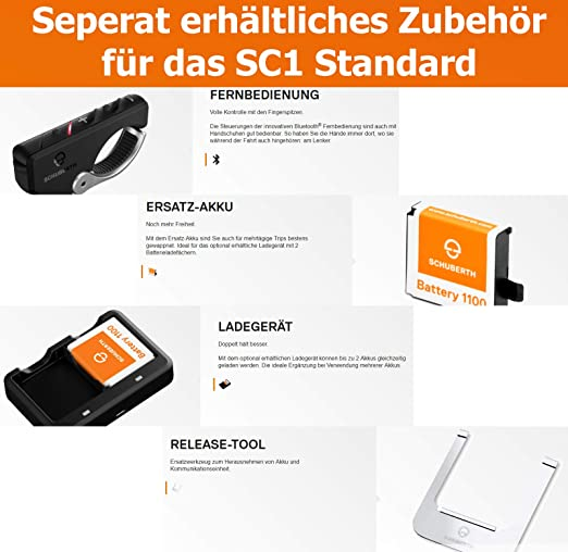 Schuberth Sc1 Standard Bluetooth Module C4 R1 Auto