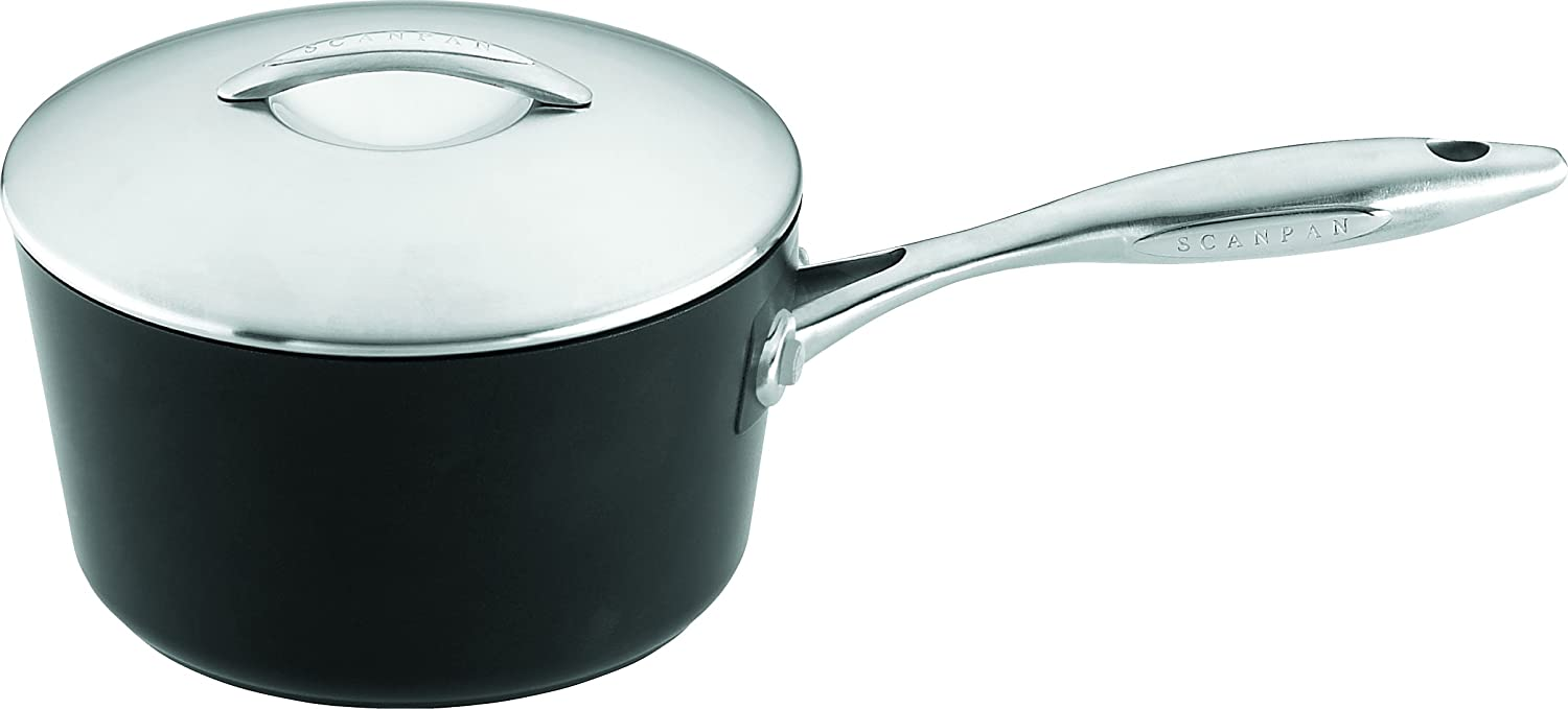 Scanpan Professional 2-Quart Covered Saucepan