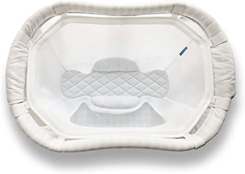 MySnuggly Newborn Bassinet Insert for Halo Bassinets Safe Real Cuddling Feeling for Better Sleep Patent Pending