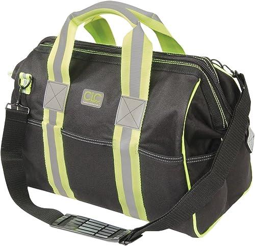 CLC Hi-Viz Gear 141165 16-Inch Hi-Viz Gear Bigmouth Bag