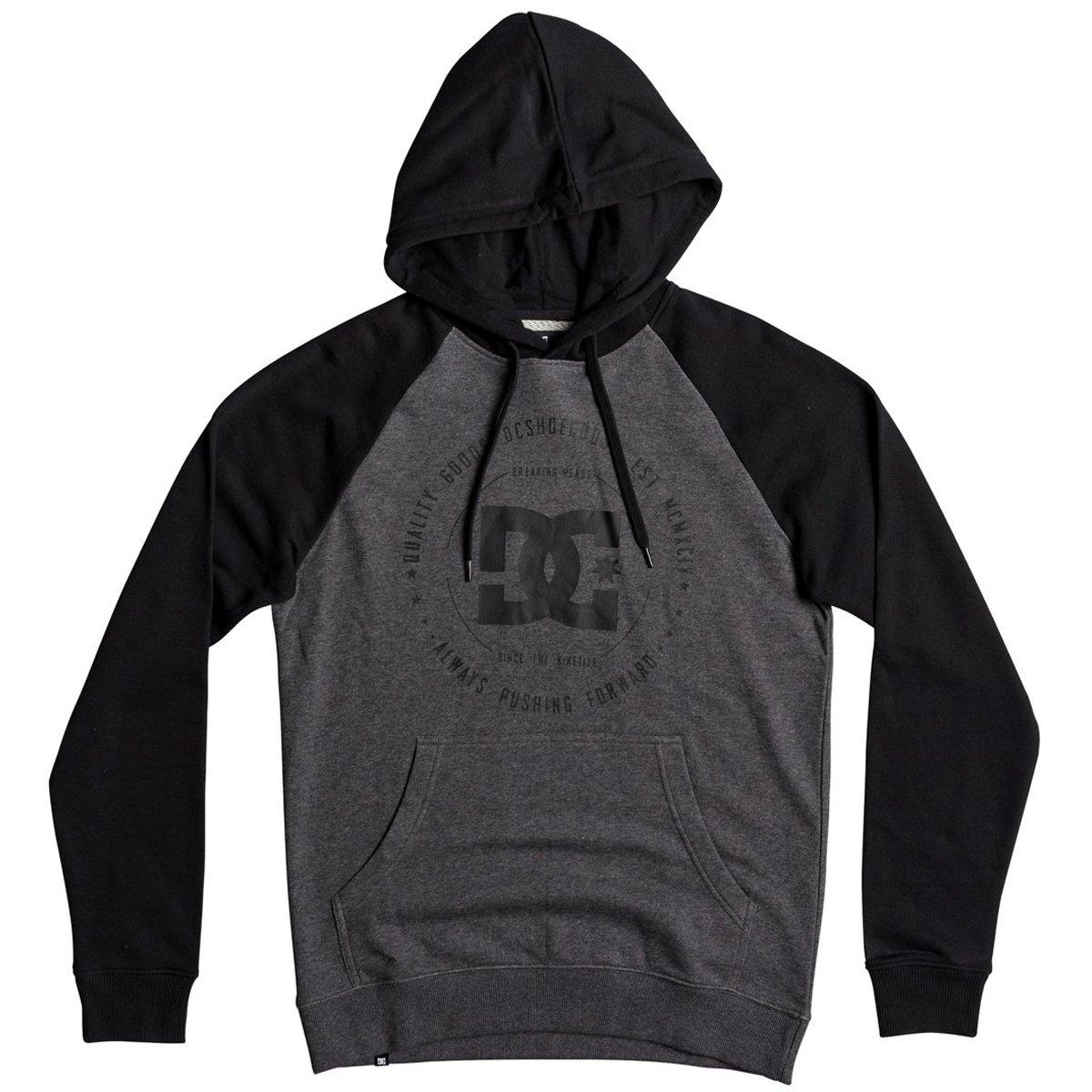 DC Men's Rebuilt Pullover Raglan Sweatshirt DC Young Men's EDYSF03145