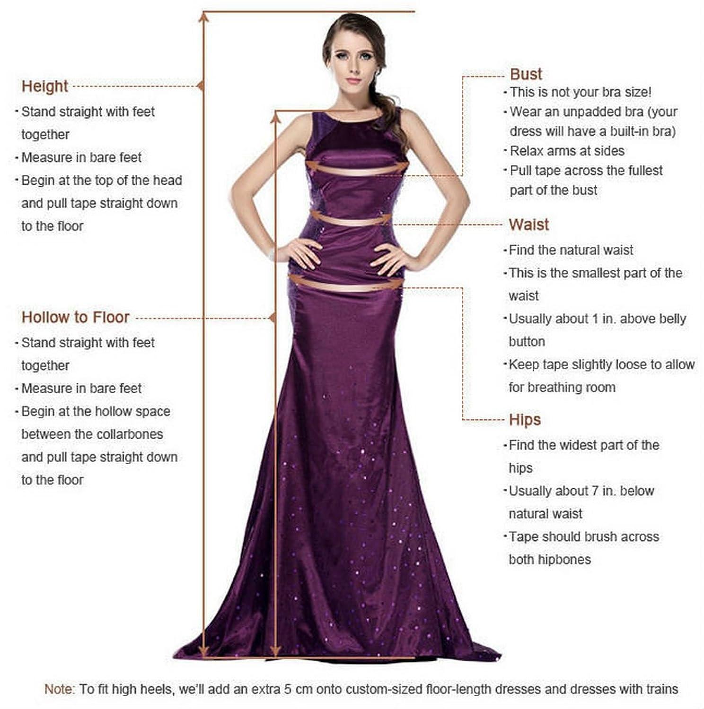 Oailiya Women's Chiffon Evening Bridesmaid Party Dress