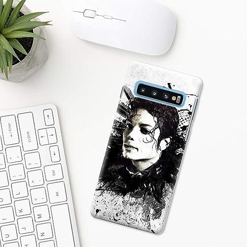 Michael Jackson Étui Samsung Galaxy S10 Plus S10e S9 S8 S7 edge S6 ...