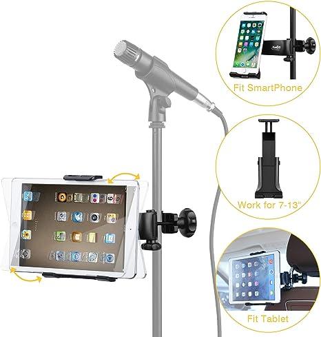 Moukey Mmsph-1 - Soporte ajustable para micrófono para Apple iPad ...