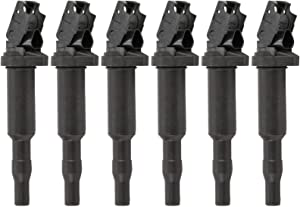 Bosch 0221504470 Original Equipment 0221504470 Ignition Coil 6-PACK