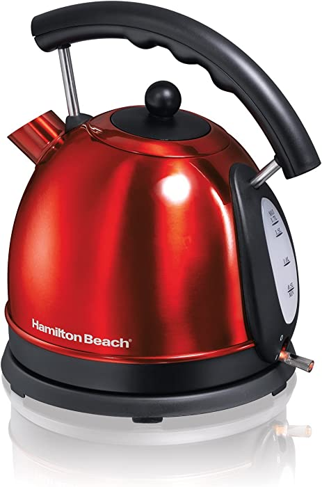 Hamilton Beach 1.7L Stainless Steel Electric Kettle 40894 (Renewed)