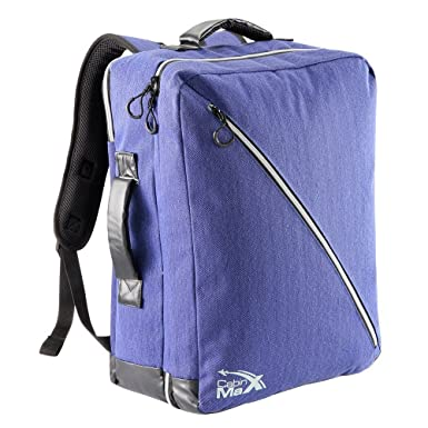 Charmant Cabin Max Oxford 50x40x20cm Carry On Luggage   Backpack (Blue)