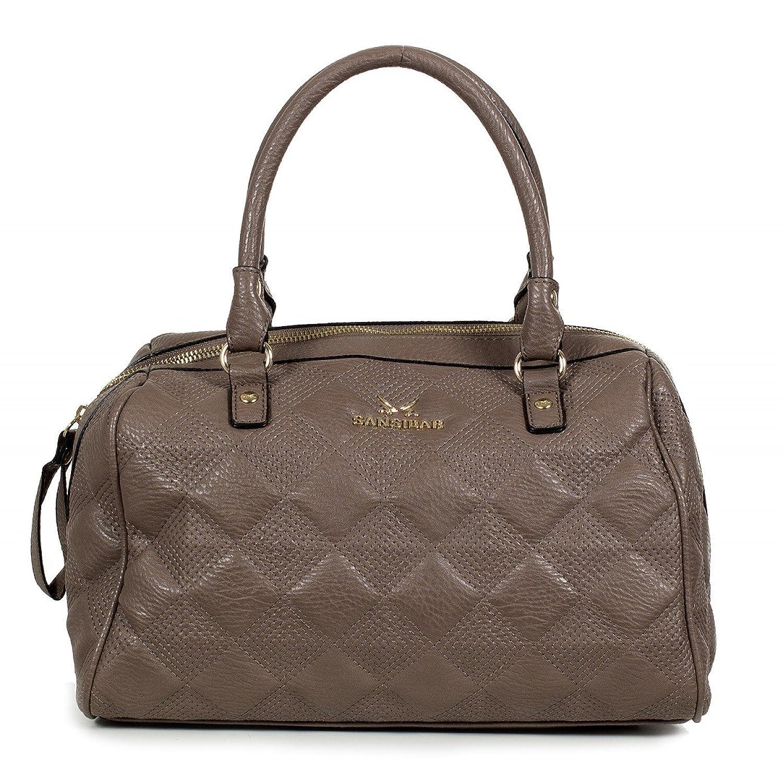 Sansibar Bowling bag Bag - Synthetic faux leather B-825-AQ (31.5 x 25.5 x 17 cm)