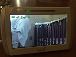 summer infant in view digital color video baby monitor baby. Black Bedroom Furniture Sets. Home Design Ideas